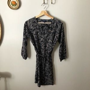 GAP Dresses - Paisley tunic belted dress
